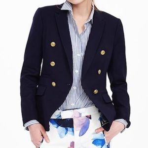 Banana Republic Navy Blue Nautical Blazer